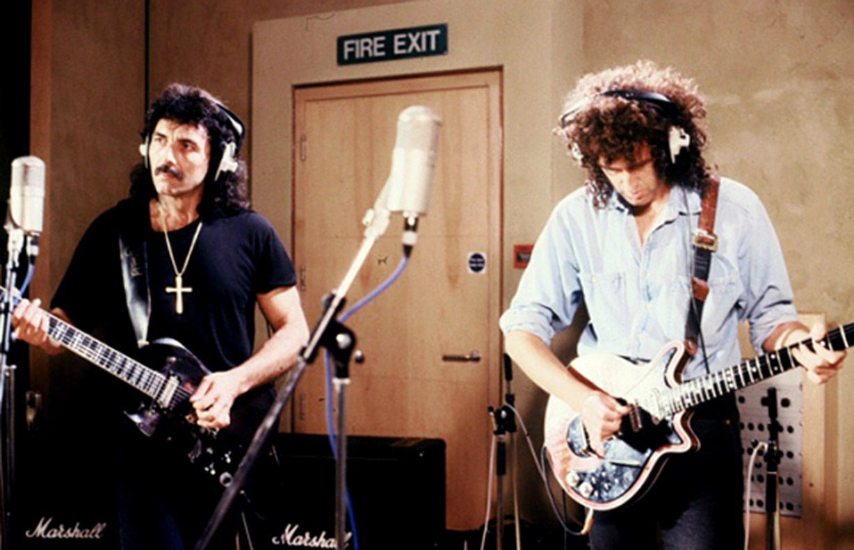 Brian May lanzara álbum junto a Tony Iommi un album de riffs